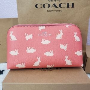 Coach Bunny Cosmetic Bag